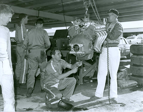 Mystery 427 Engine at the 1963 Daytona 500