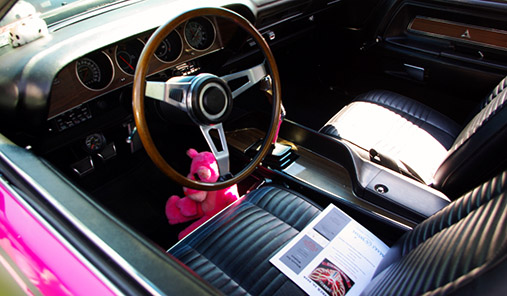 1970 Dodge Challenger T/A Pink Panther