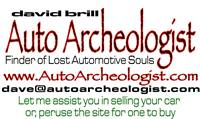 AutoArcheologist David Brill