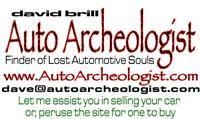 AutoArcheologist David Brill