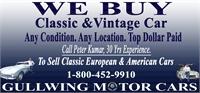 GULLWING MOTOR CARS Monica Thukral