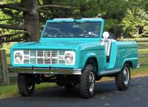 The Rarity of a True 1966 Ford Bronco