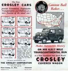 The Crosley Motor Company