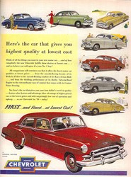 Which American Car Manufacturer Sold the Most Cars in the 1950s?