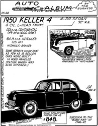 The 1950 Keller 4 - A Car Ahead Of Its Time