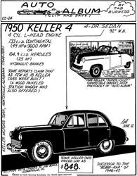 1950 Keller 4 - A Car Ahead Of Its Time