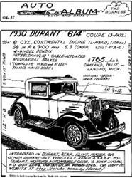 1930 Durant 614