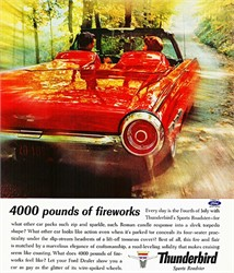 How Can I Tell If I Have An Official 1962 Thunderbird Sports Roadster?