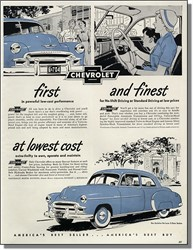 When Did the Chevy Powerglide Two-Speed Automatic First Come Out?