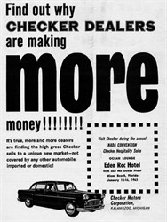 Why Did Checker Motor Company Go Out of Business?