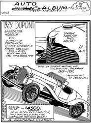 1929 Du Pont Speedster