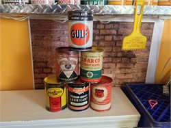 Different Types of Collectible Grease Cans