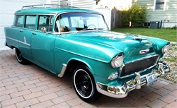 1955 Chevy 210 Station Wagon: memories From a Fan