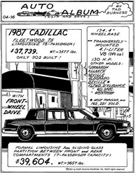 1987 Cadillac Fleetwood 75