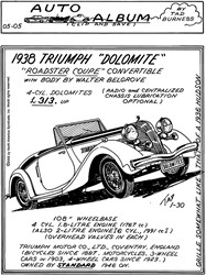 1938 Triumph Dolomite