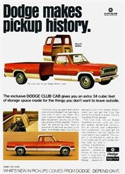 Did GMC Or Chevrolet Ever Make A 4 Door Or Extended Cab Truck In The 1960s?