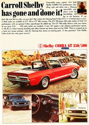 1968 Shelby GT500 Mustang Convertible