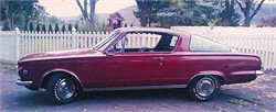 Greg and Reader Reminisce Over The 1965 Plymouth Barracuda