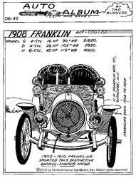 1908 Franklin - Franklins Were Easy to Identify