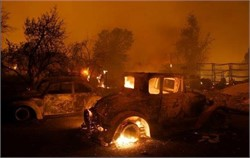 Devastating California Wildfire Destroys Collector Cars
