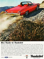 What was the biggest Ford engine ever put into a Ford Thunderbird?