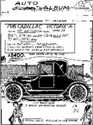 1916 Cadillac Victoria
