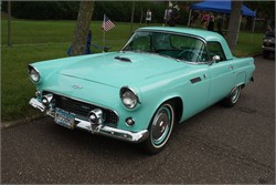 How Many Thunderbirds Did Ford Produce In 1955?