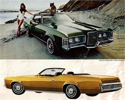 1972 Mercury Cougar With Original Green Paint