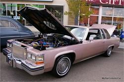 Conservative 1982 Cadillac De Ville Goes Beast Mode