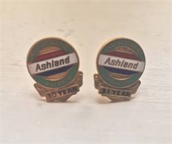 Vintage Service Awards from Gas Companies