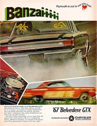 Was the 1967 GTX the First True Muscle Car Effort from Plymouth?