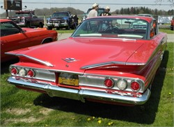 What is a Fair Price for a 1960 Chevy Impala 2-door Hardtop with a 348 Tri-Power V8?