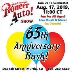Pioneer Auto Show 65th Anniversary Bash