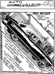1953 Kaiser Dragon