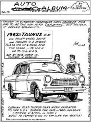 1962 1/2 Taunus - Ex Cardinal