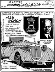 1938 Horch Convertible