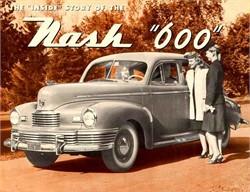 1948 Nash Ambassador 4 Door Sedan