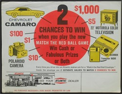 Gas Station Memories And Advertising Gimmicks