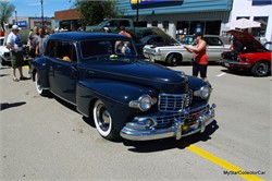A 1947 Lincoln Continental Restoration Mod Rocks the Show
