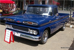 1961 Chevrolet Apache With A Special Birthday License Plate