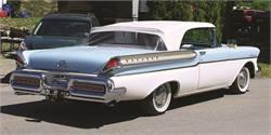 1957 Monarch Lucerne Convertible – Rarest of the Rare