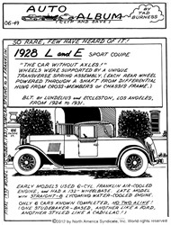 1928 L and E Sport Coupe