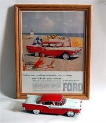 1957 Ford Fairlane Model Car Kit