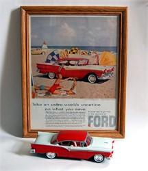 1957 Ford Fairlane Model Car Kit