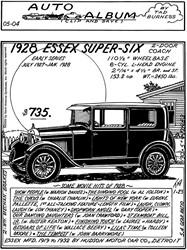 1928 Hudson Essex