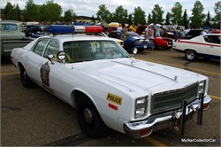 Fury Road: 1978 Plymouth Lives A Second Life As A Retro Police Car