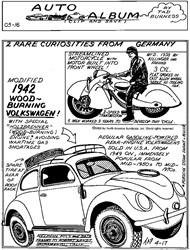 1942 Wood-Burning Volkswagen