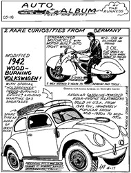 1942 Wood-Burning Volkswagen