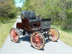 1904 Buffum: A First Generation 4-Cylinder Automobile Built In America