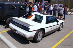 A 1984 Pontiac Fiero with an Indy 500 Heritage
